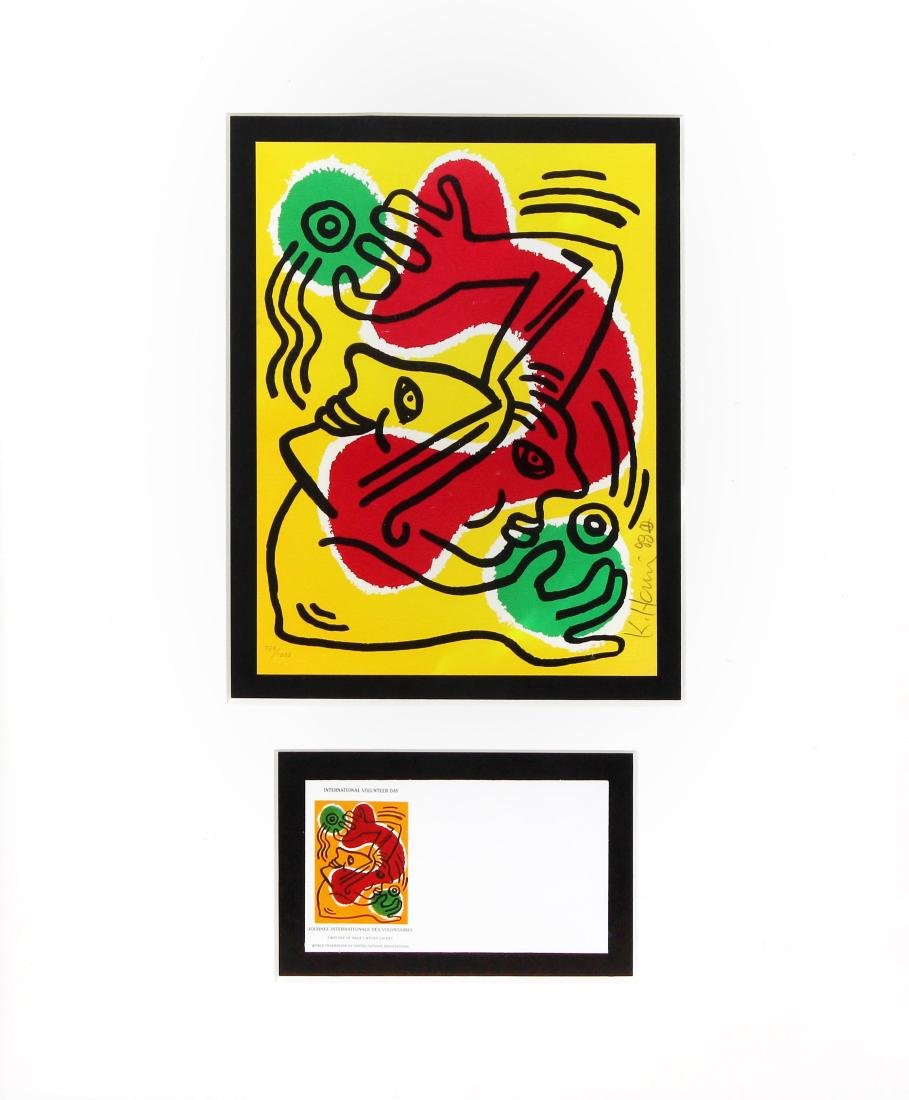 Keith Haring - International Volunteer Day (Lithograph