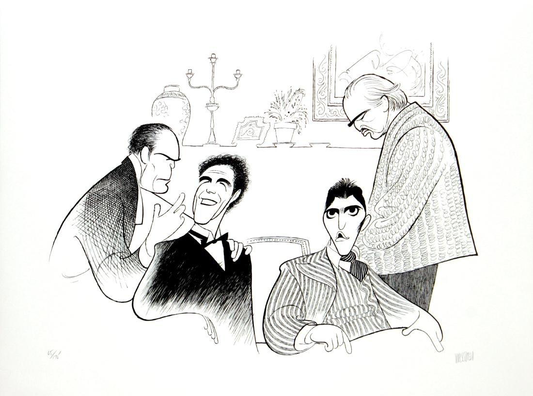 Al Hirschfeld - Godfather