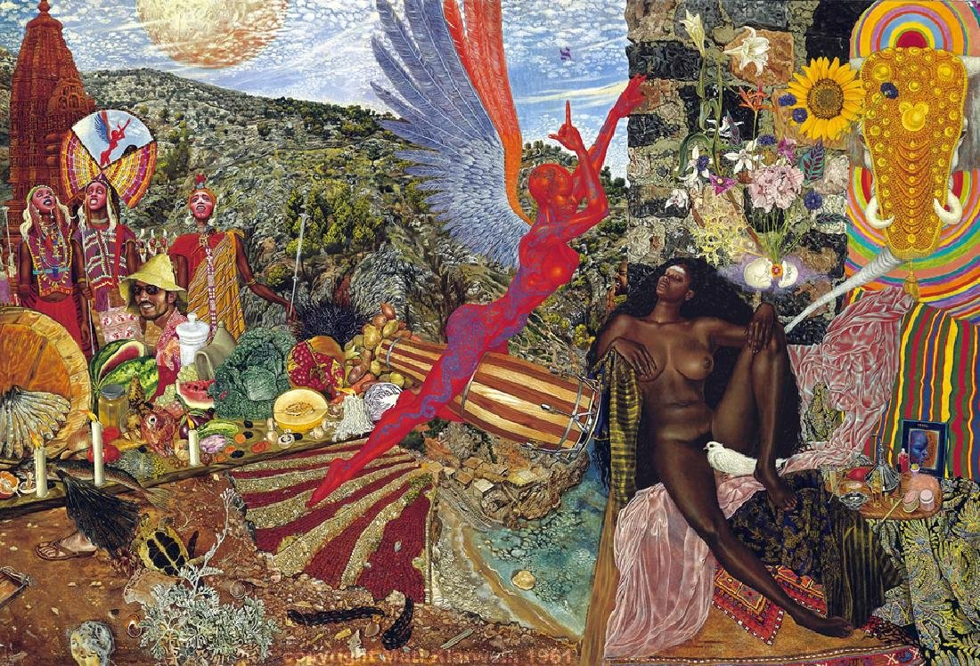 Mati Klarwein - Annunciation (Abraxas album cover)