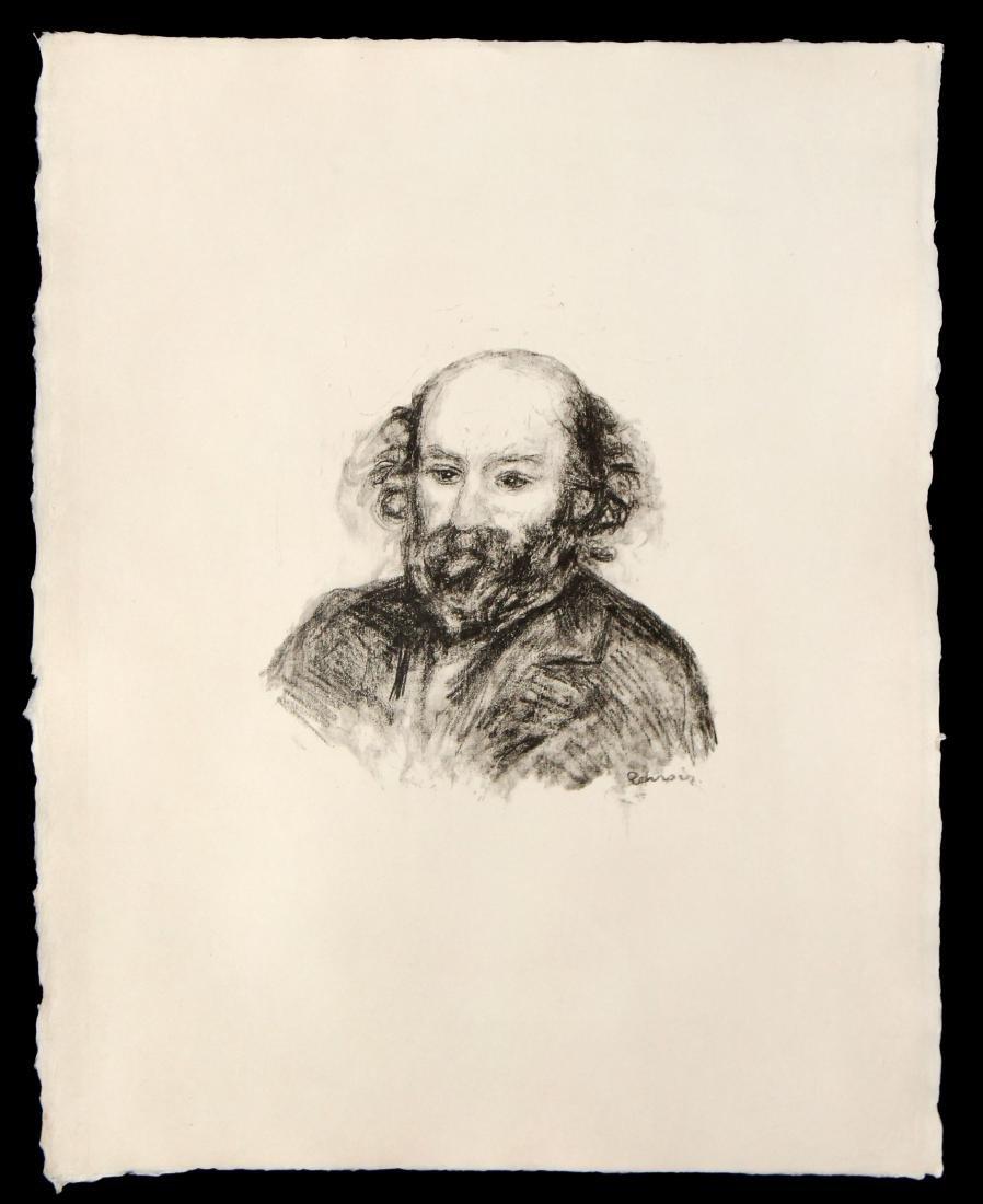 Pierre-Auguste Renoir - Portrait of Cezanne