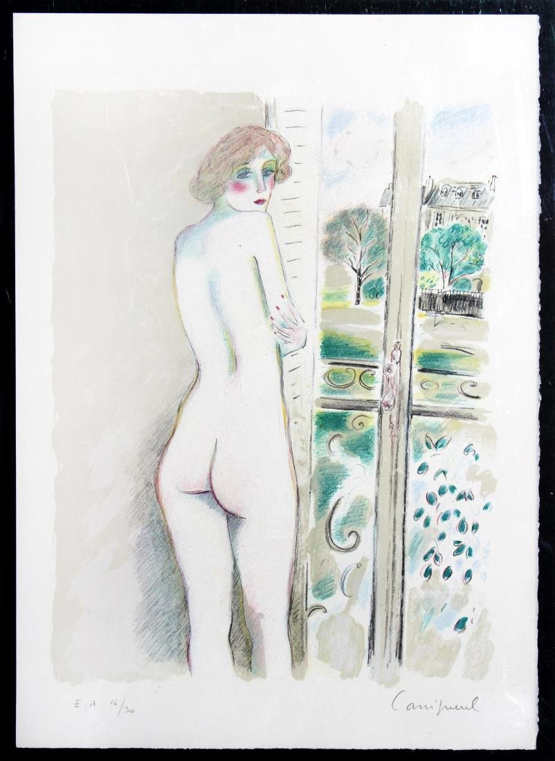 Jean-Pierre Cassigneul - Nude at Window