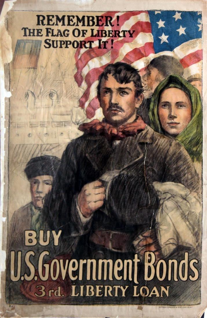 Vinage 1917 War Posters - Eight World War I Propaganda - 2