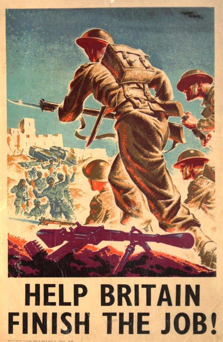 Vinage 1917 War Posters - Eight World War I Propaganda - 3