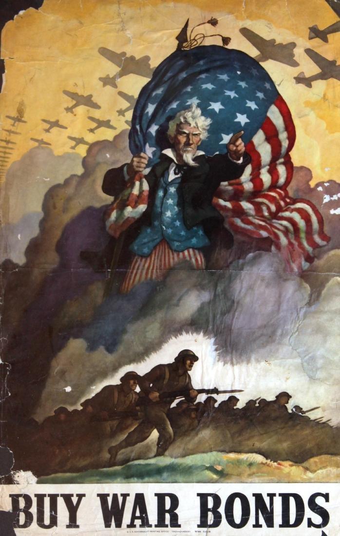 Vinage 1917 War Posters - Eight World War I Propaganda - 5