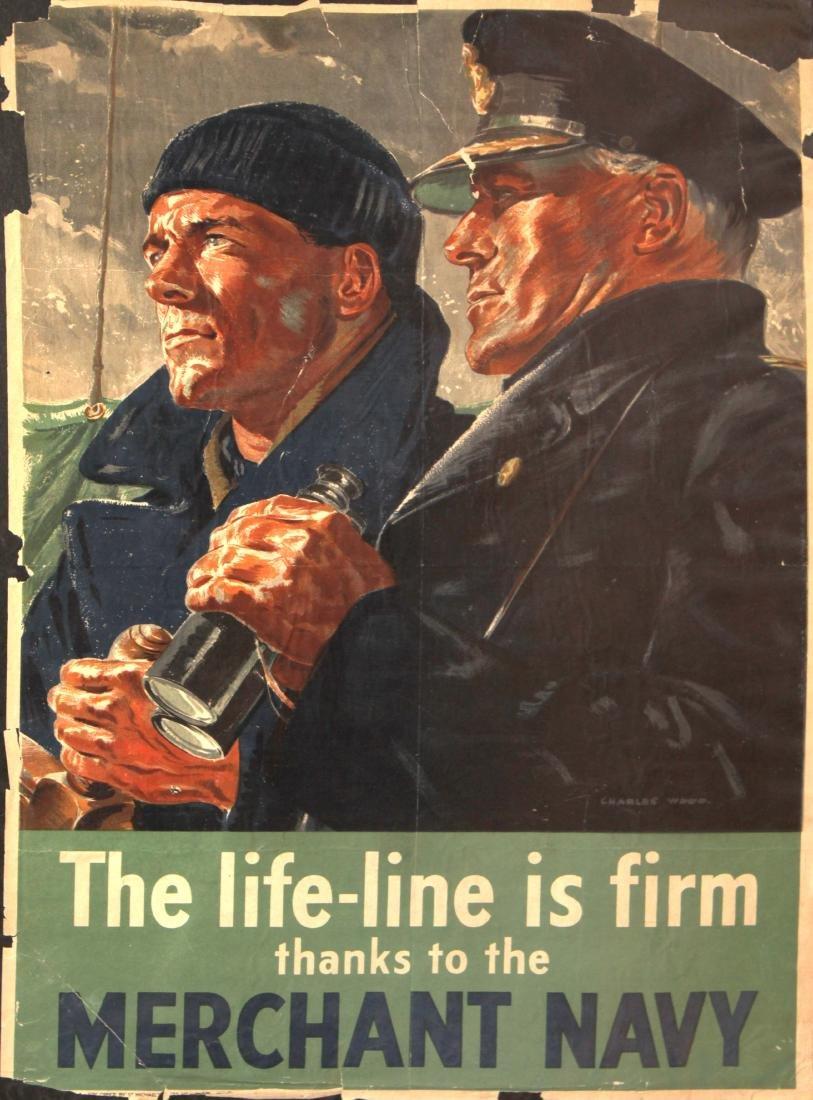 Vinage 1917 War Posters - Eight World War I Propaganda - 6