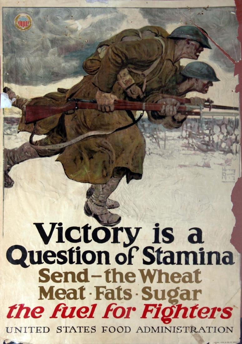 Vinage 1917 War Posters - Eight World War I Propaganda - 7
