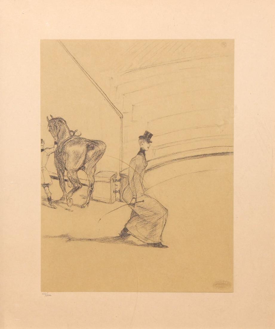 Henri Toulouse-Lautrec (After) - Ecoyere de Haute Ecole