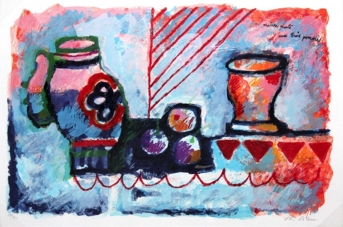 Theo Tobiasse - Nature Morte - Homage to Picasso