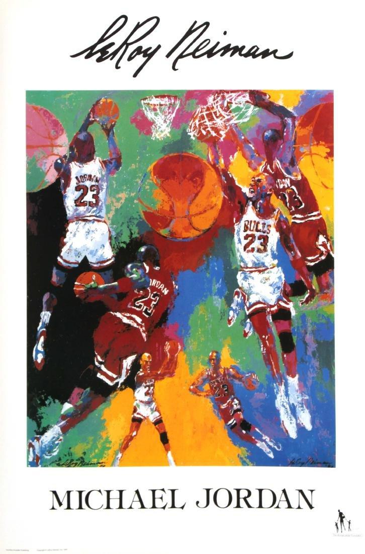 LeRoy Neiman - 45 Offset Michael Jordan Posters
