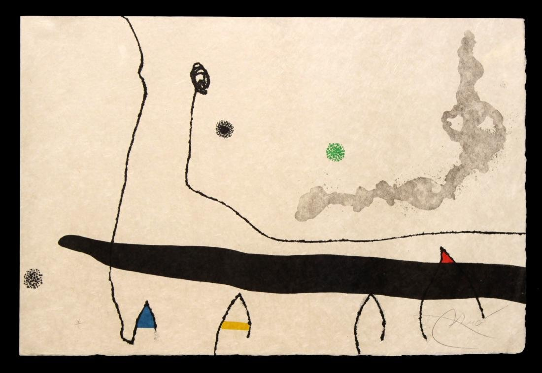 "Joan Miro - Untitled from ""Le Mareau sans Maitre"""