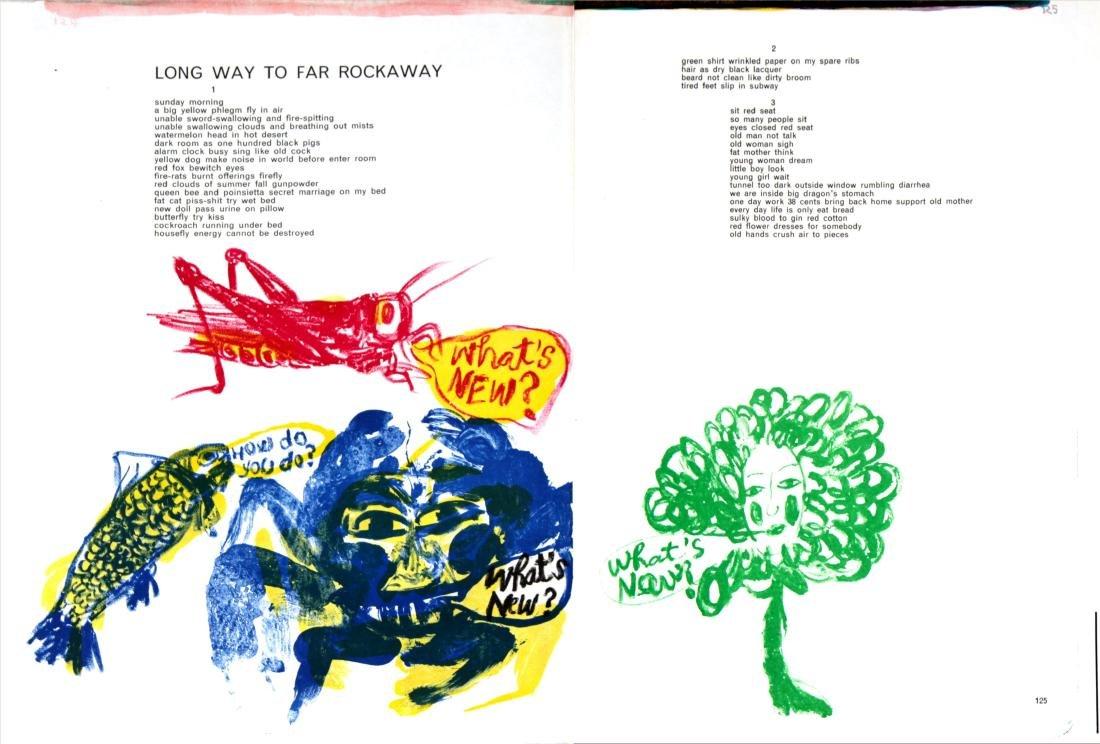 Sam Francis - Long Way to Far Rockaway