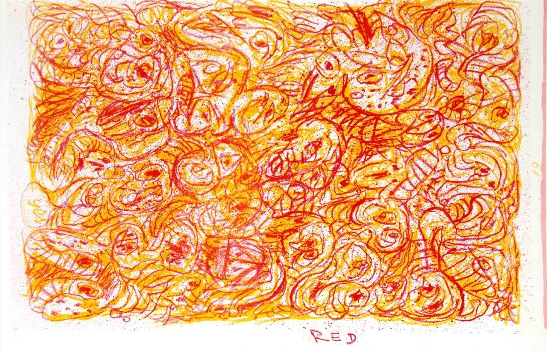 Pierre Alechinsky - Red