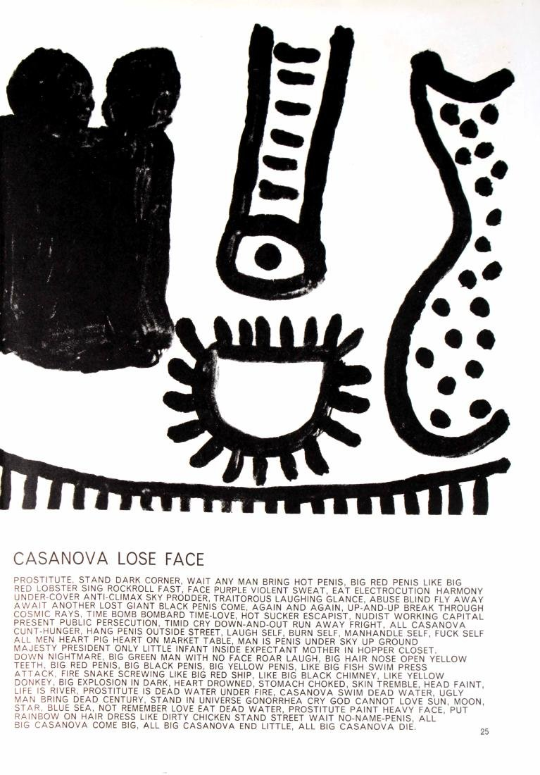 Alan Davie - Casanova Lose Face