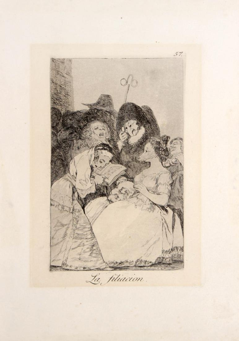 Francisco Goya - La filiacion