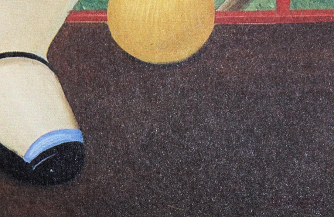 Fernando Botero  - Girl on a Balcony - 3