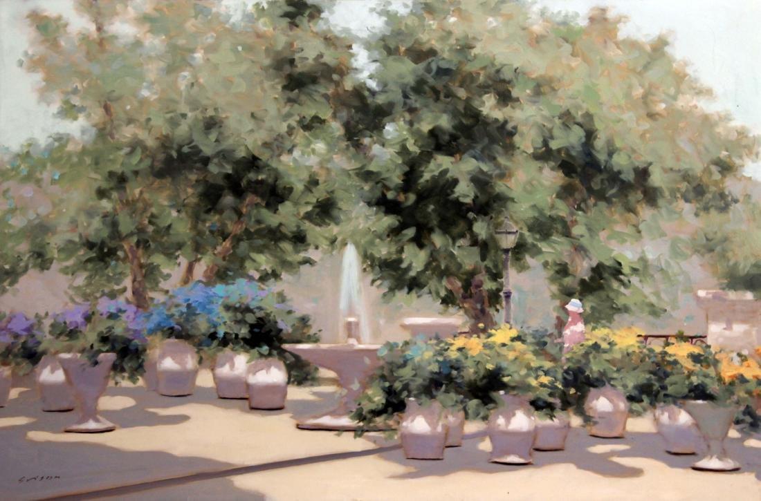 Andre Gisson - Garden Fountain