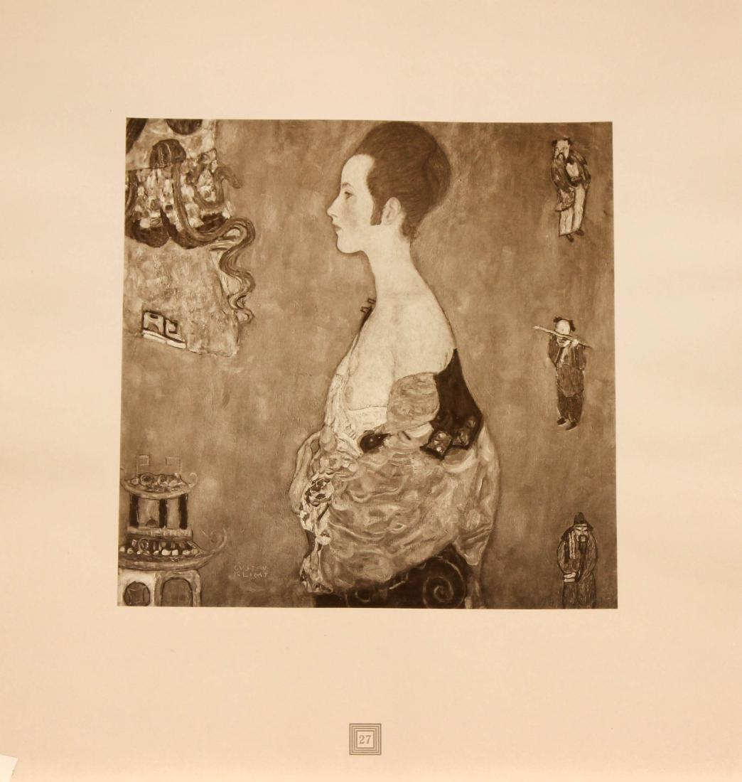 Gustav Klimt (After) - Madchen in Profile