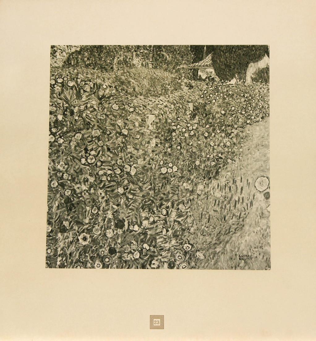 Gustav Klimt (After) - Italianische Landschaft