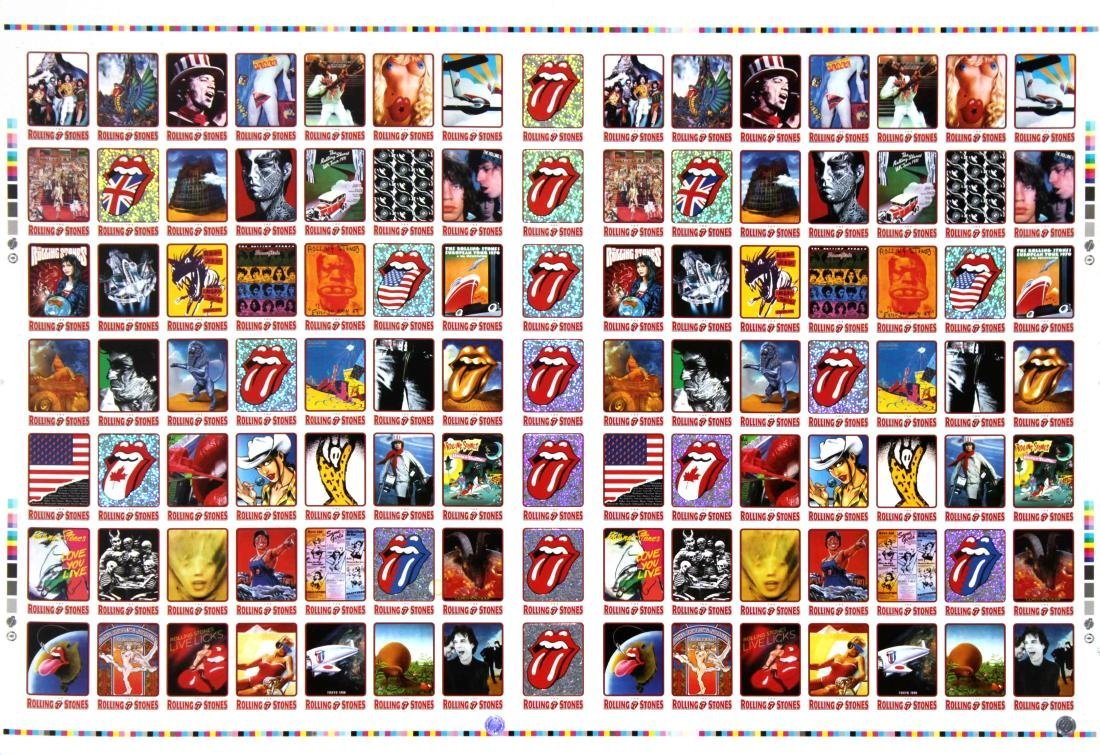 The Rolling Stones - Rolling Stones Trading Cards Uncut