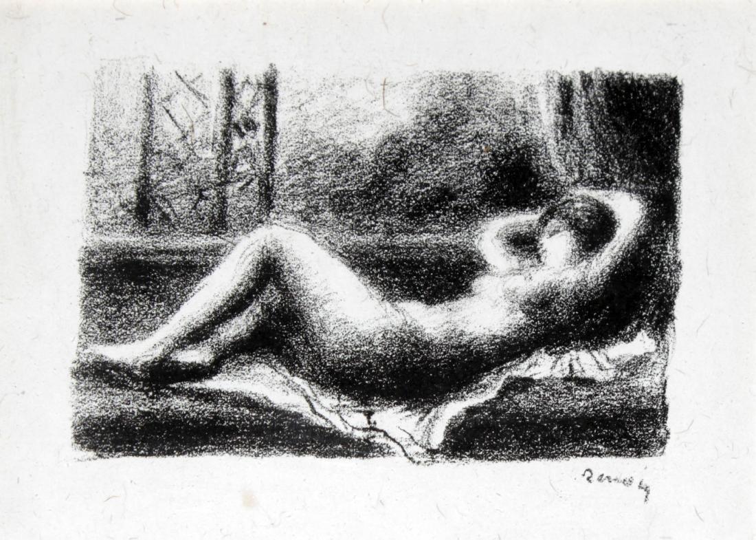 Pierre-Auguste Renoir - Odalisque