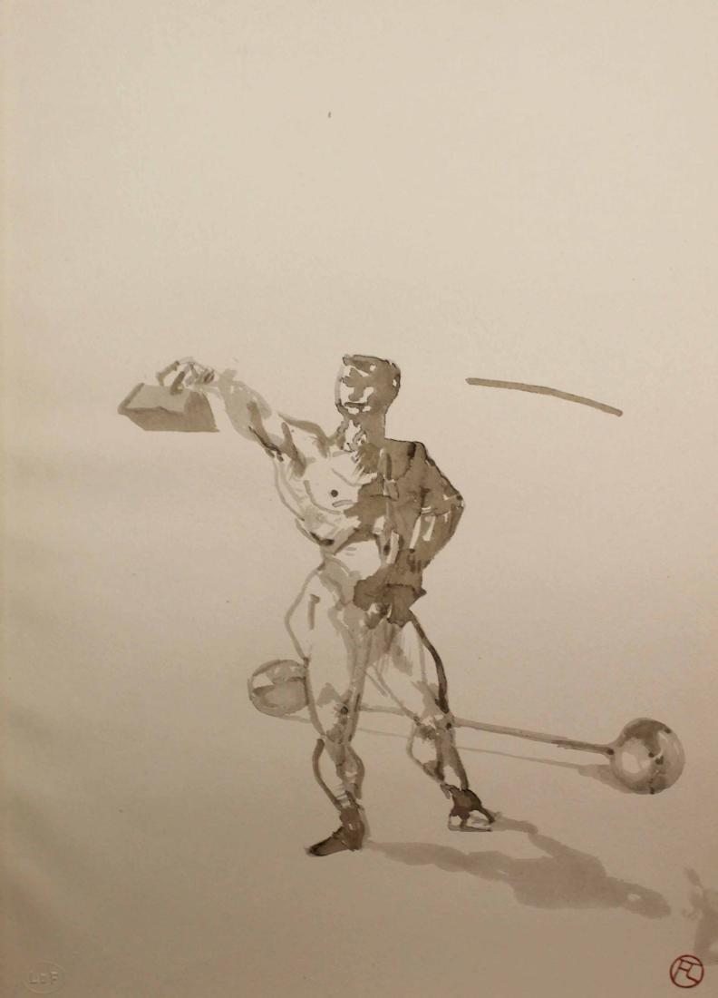 Henri Tolouse-Lautrec - Untitled (No. 5) 1908