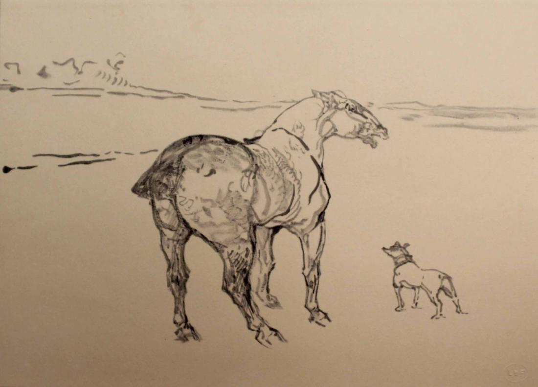 Henri Tolouse-Lautrec - Untitled (No. 2) 1908