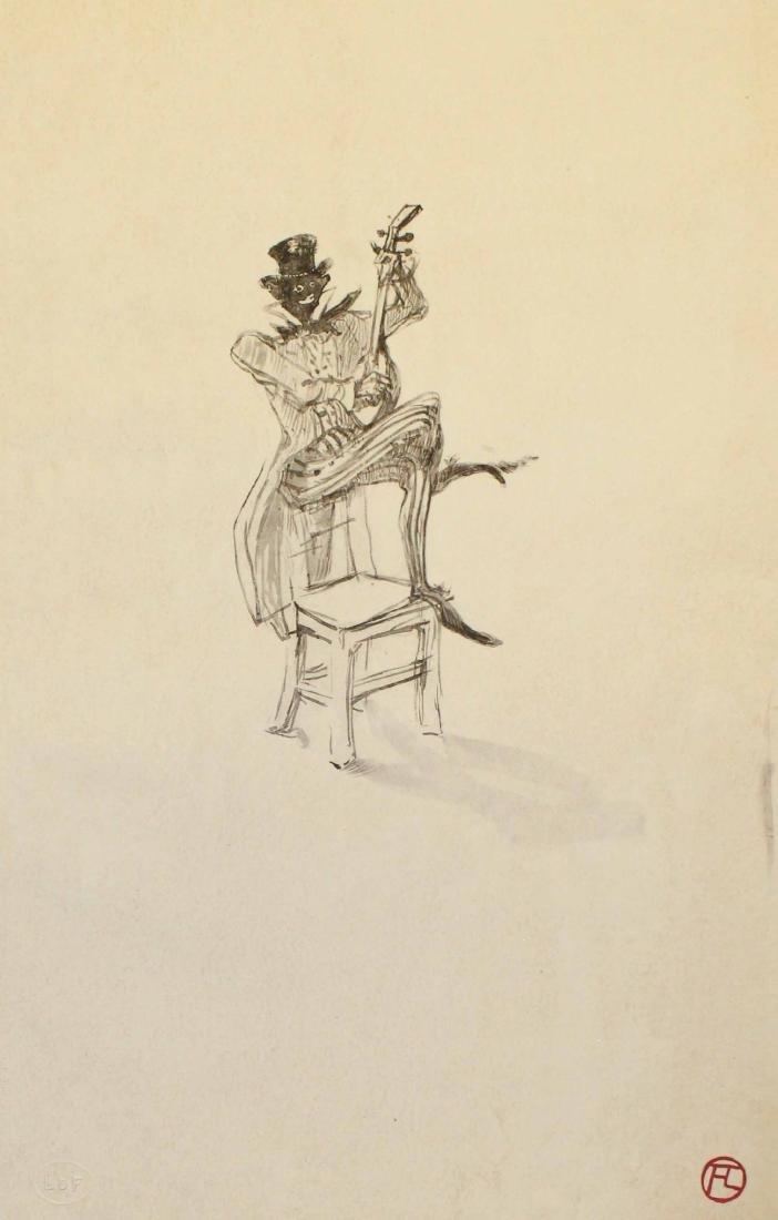 Henri Tolouse-Lautrec - Untitled (No. 3) 1908