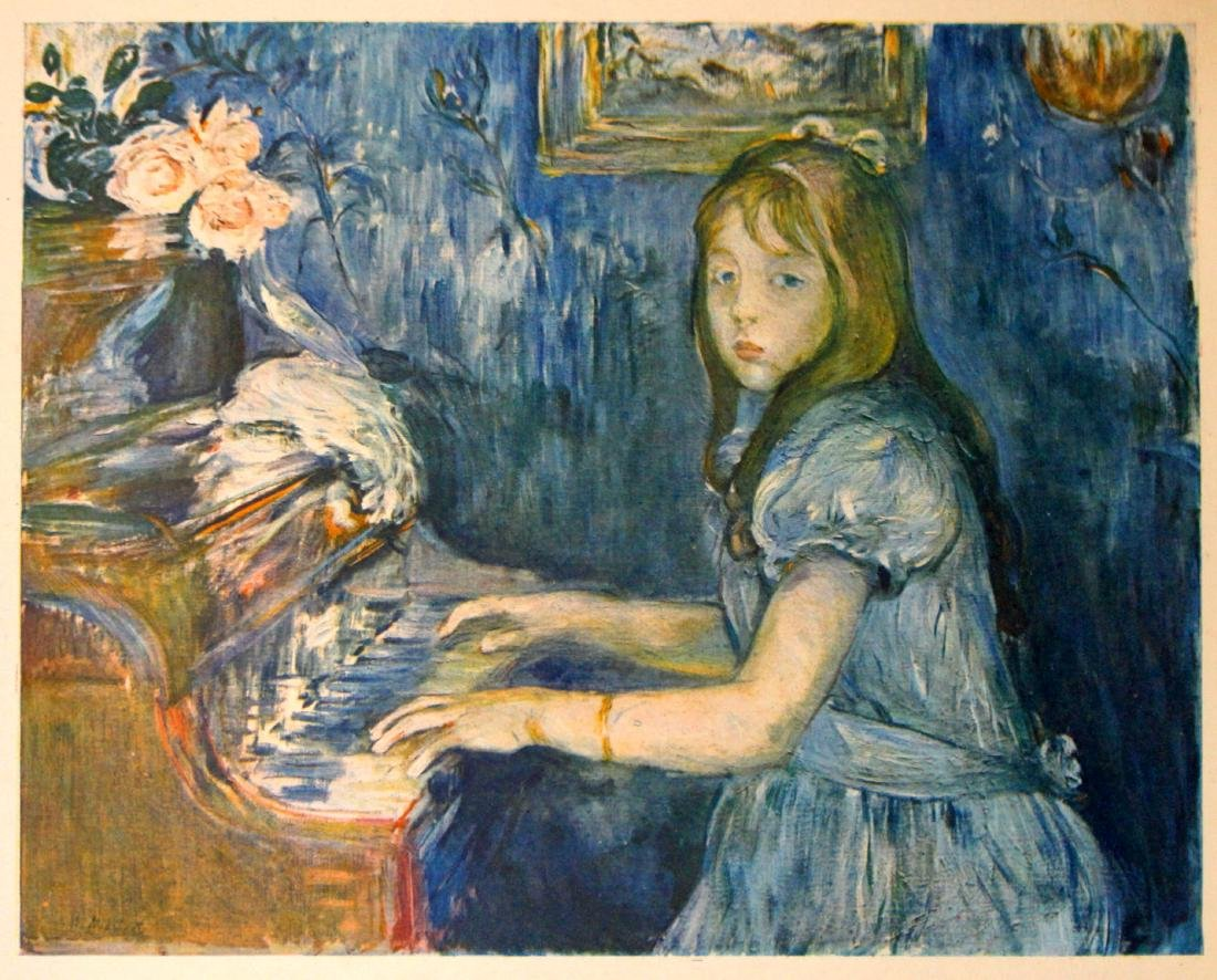 Berthe Morisot (After) - Jeune Fille Au Piano