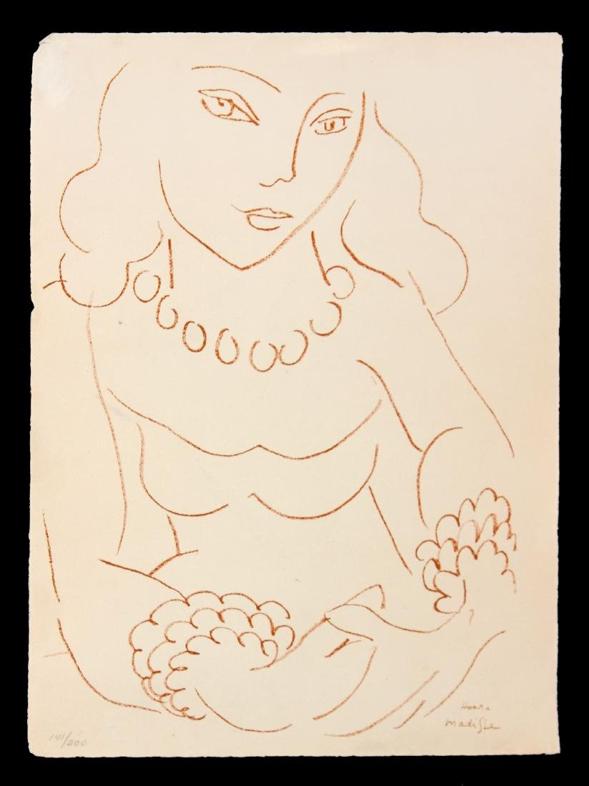 Henri Matisse - Untitled from Poems de Charles