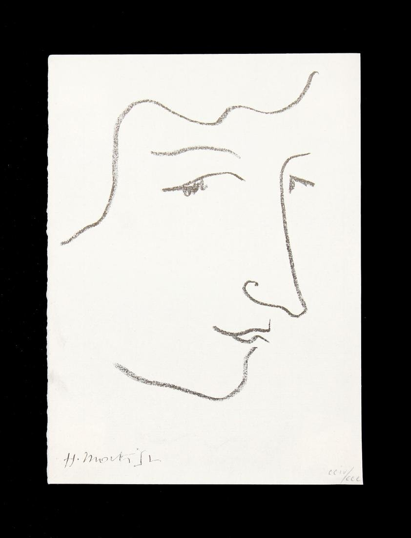 Henri Matisse - Frontispiece for La Vagabonde by