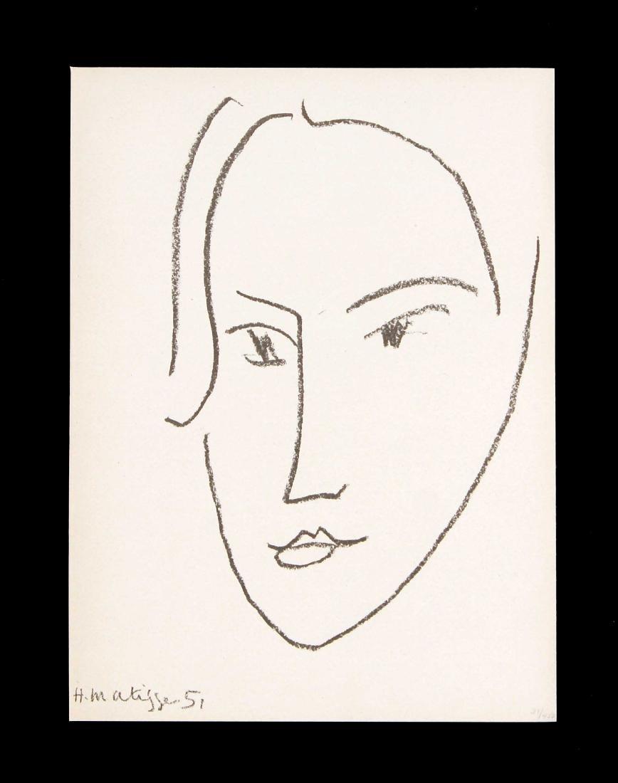Henri Matisse - Head