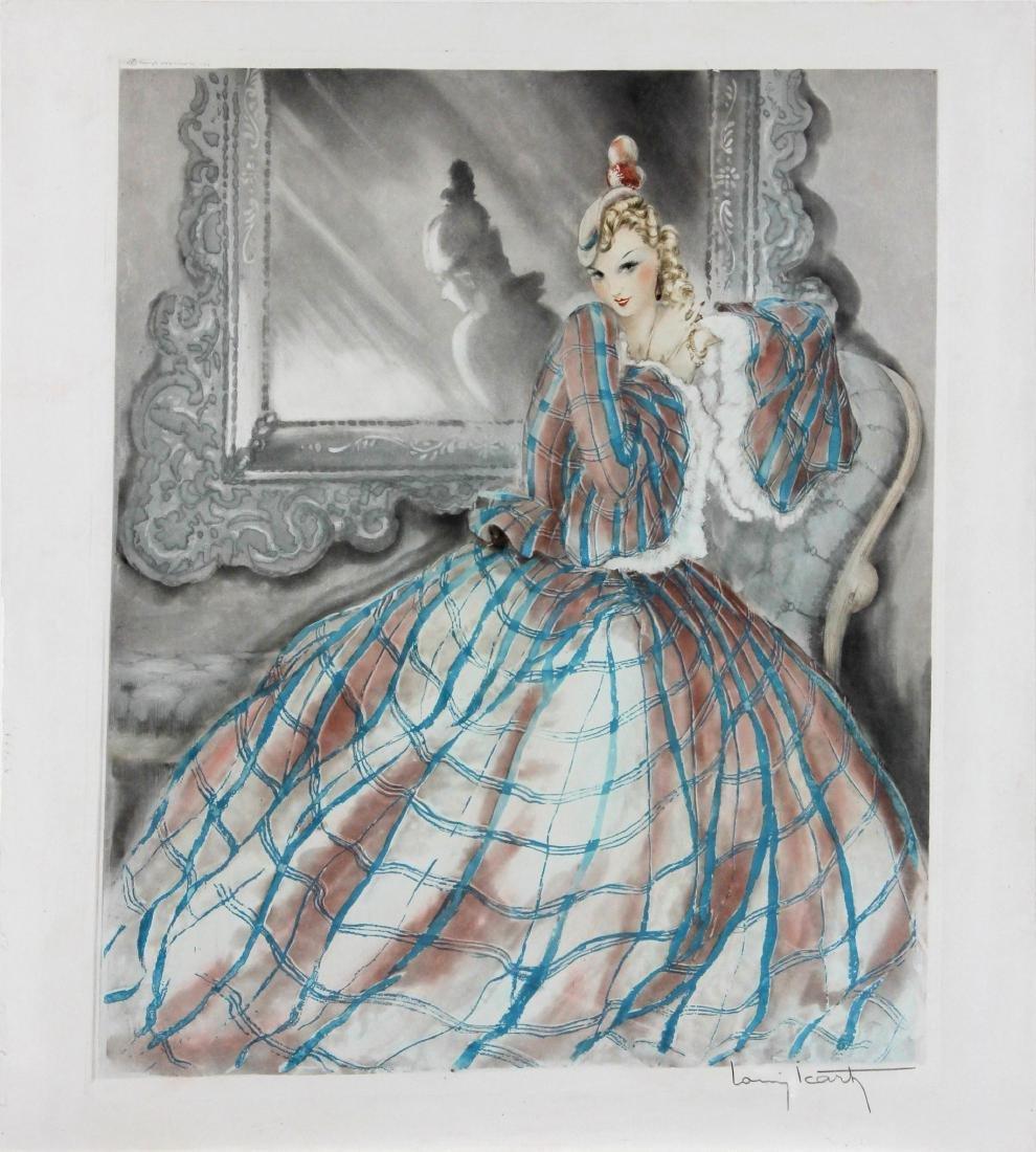 Louis Icart - Girl in Crinoline