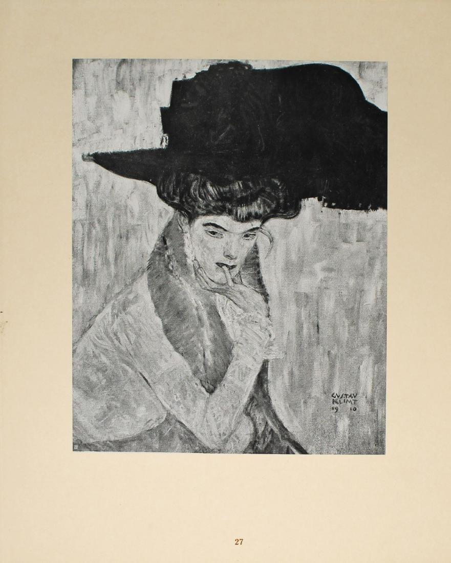 Gustav Klimt - Der fchwarze Federnhut