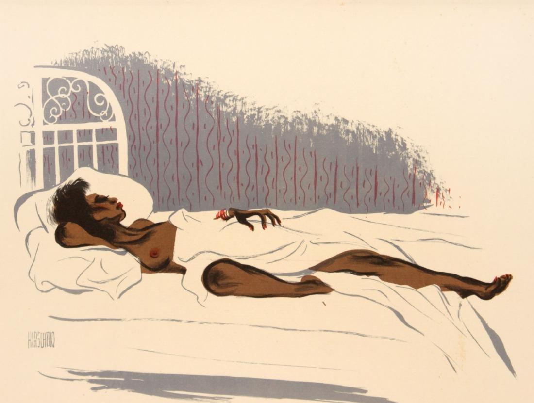 Al Hirschfeld - Cocoa Venus