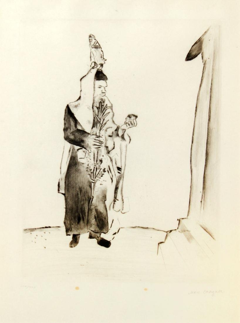 Marc Chagall - Der Rabbi
