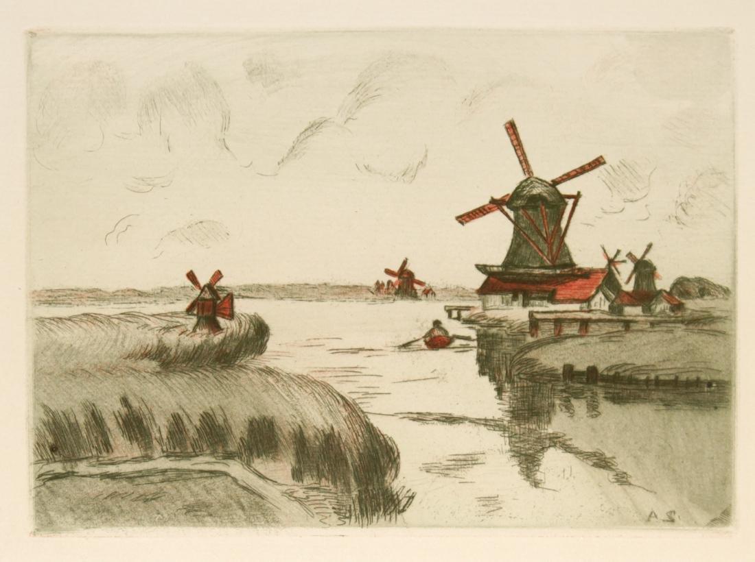 Armand Guillaumin - Sight of Zaandam