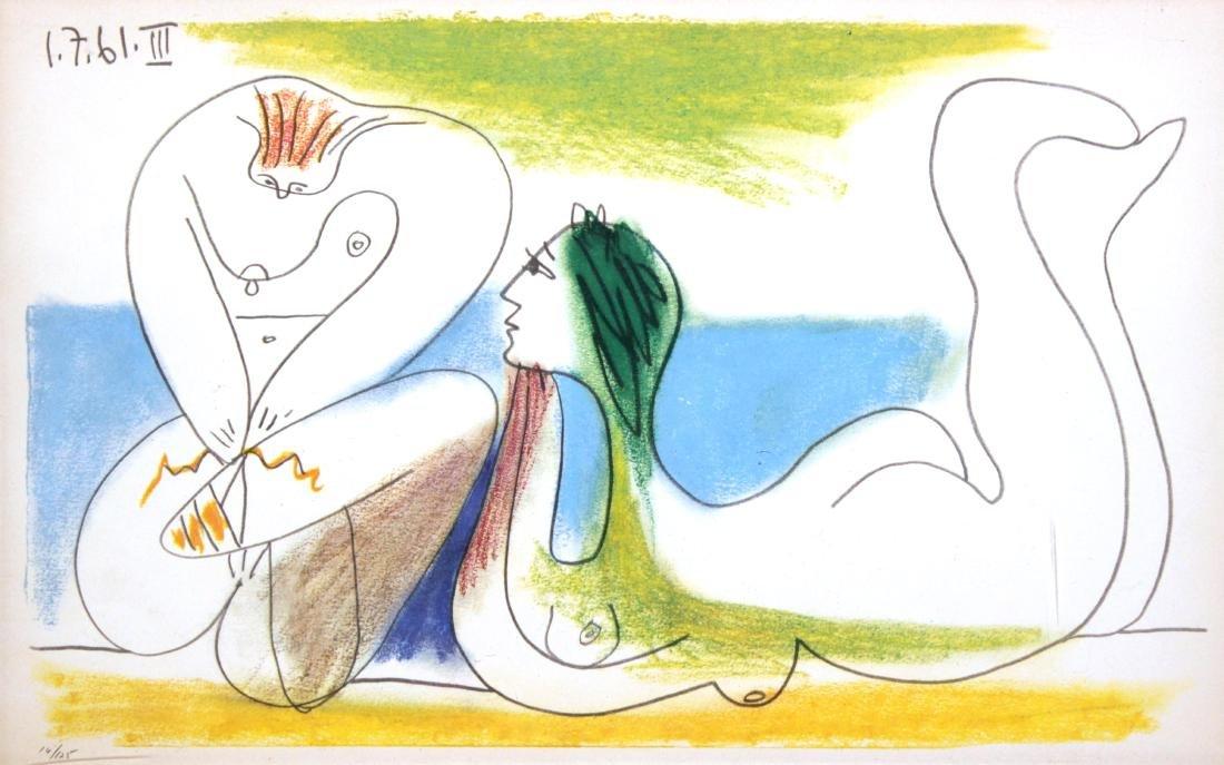 Pablo Picasso - Sur La Plage
