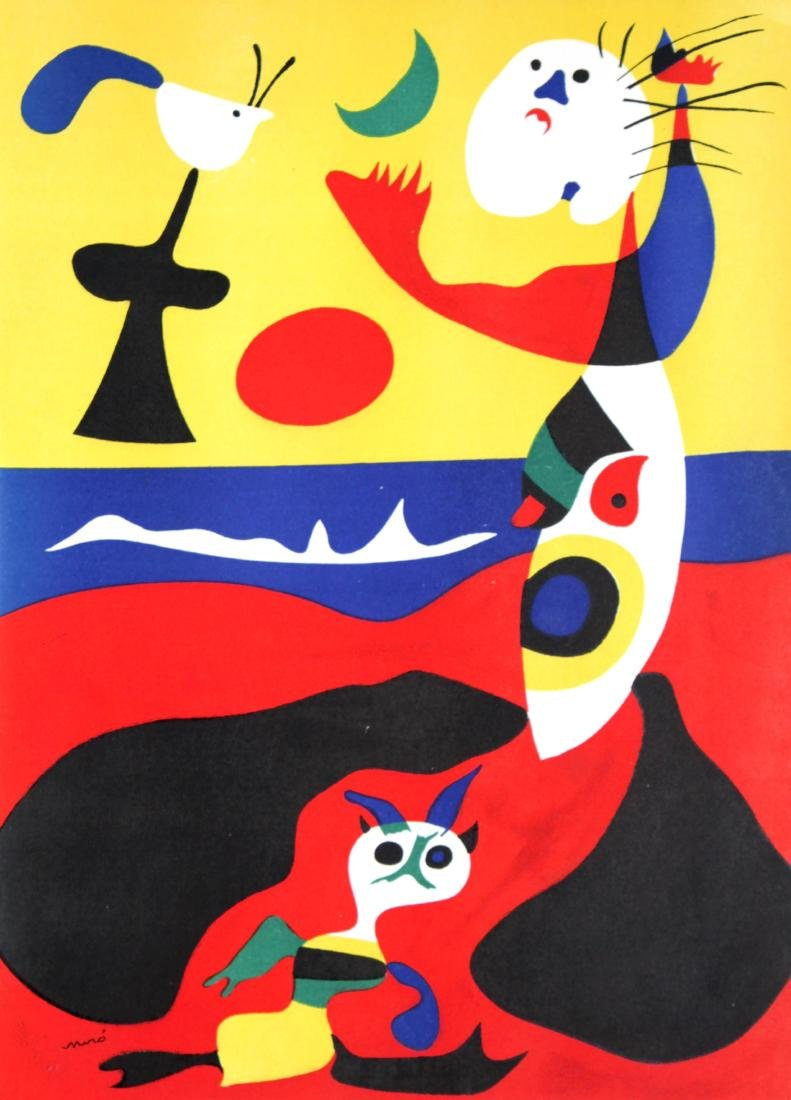 Joan Miro - L'ete (Summer)