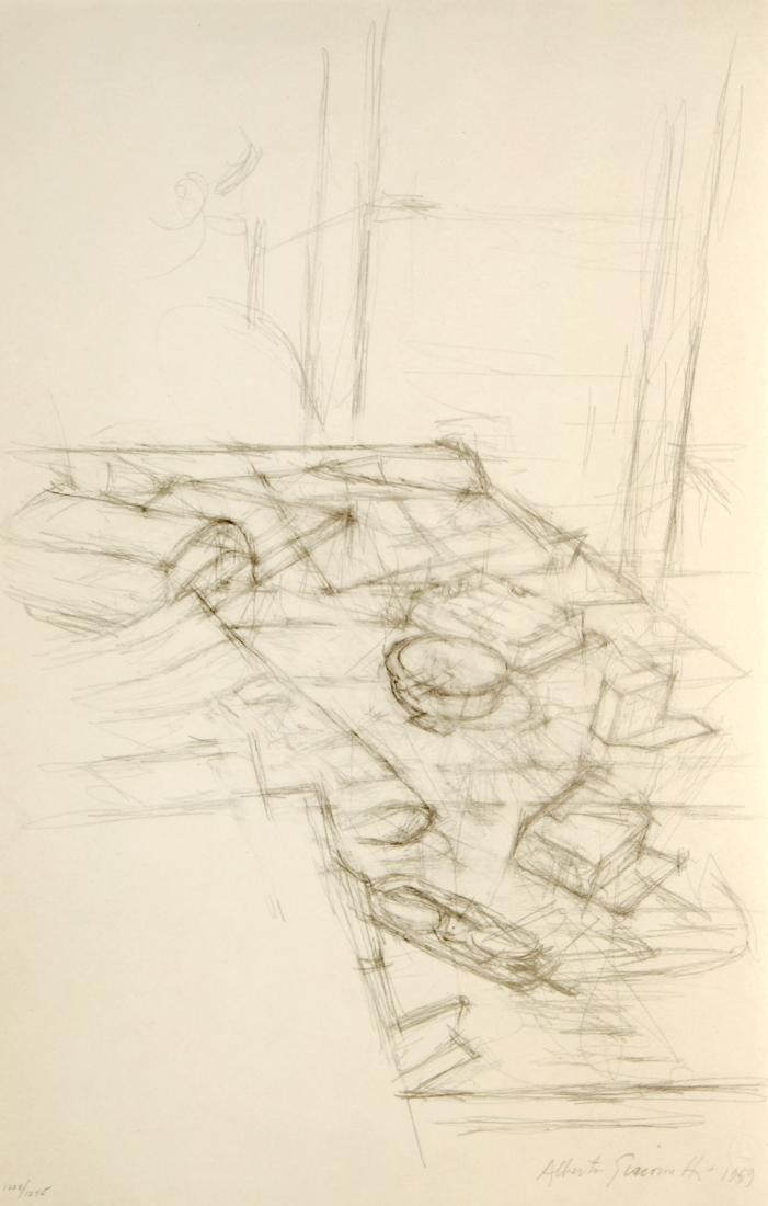 Alberto Giacometti - Natura morta