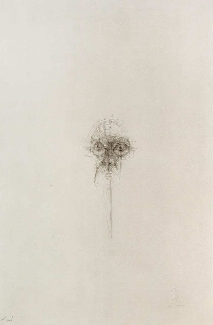 Alberto Giacometti - Testa femminile
