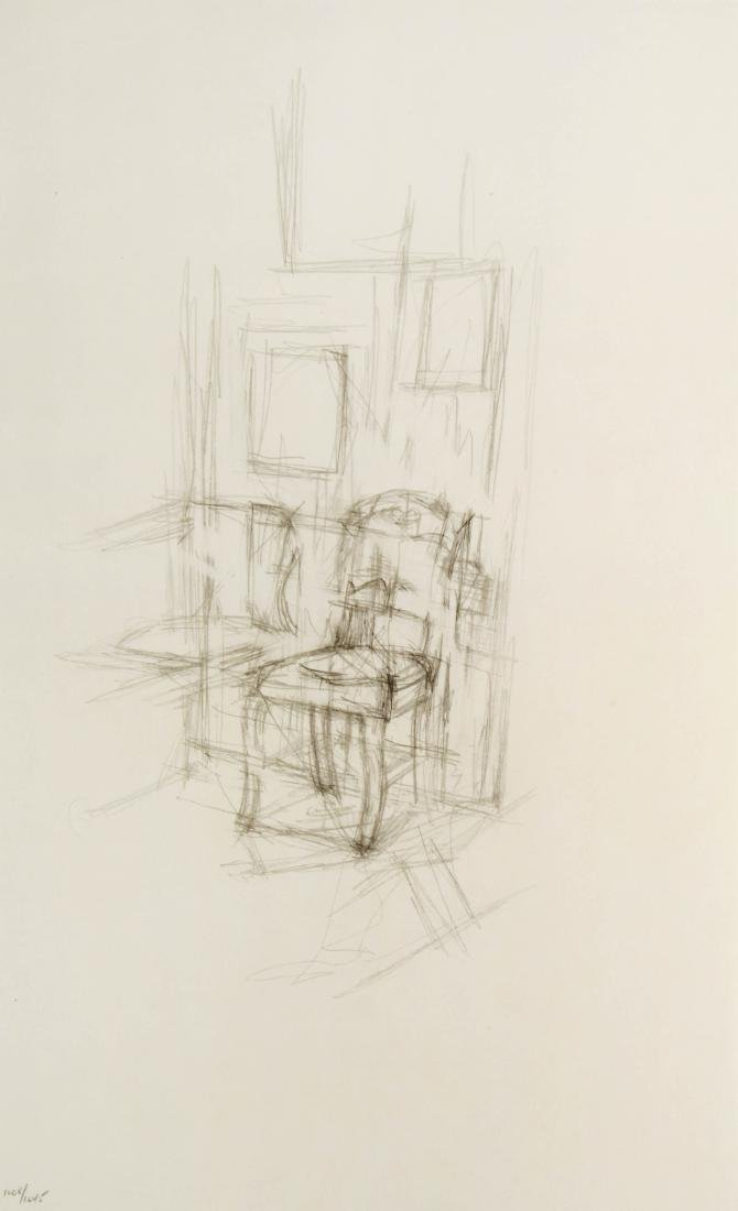Alberto Giacometti - Sedia