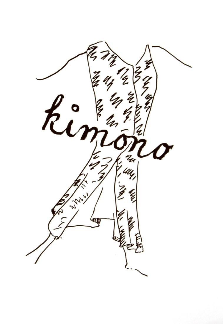 Man Ray - Kimono