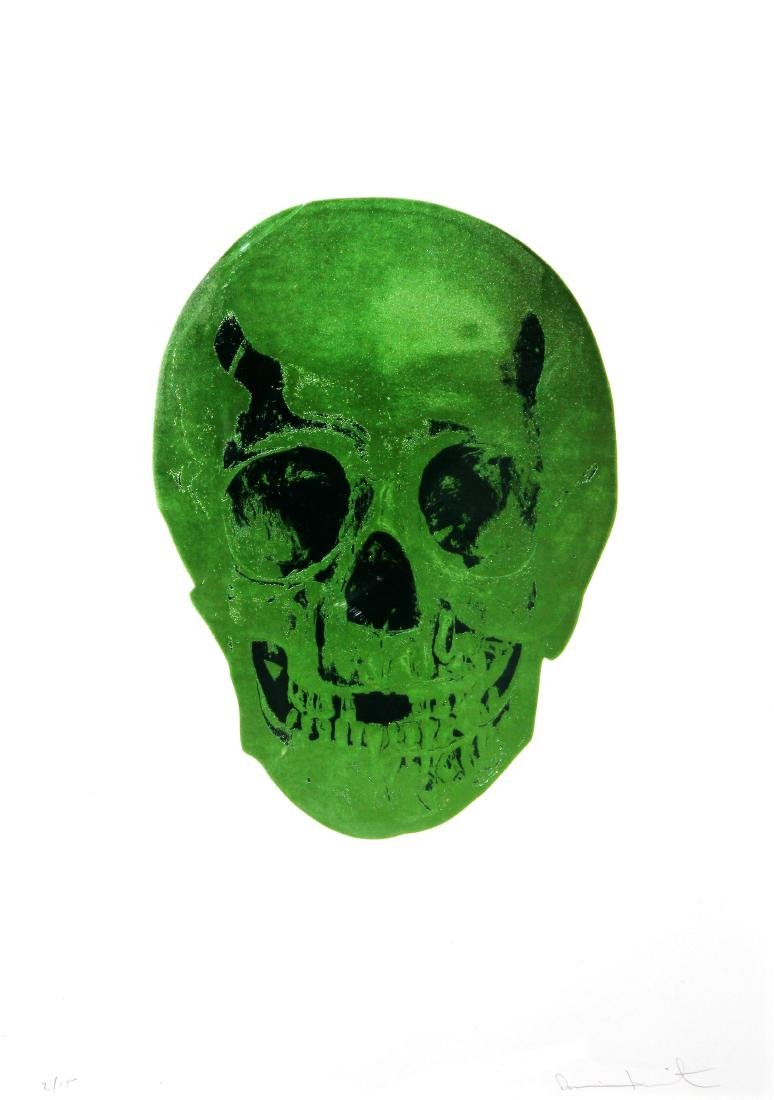 Damien Hirst - Lime Green / Racing Green