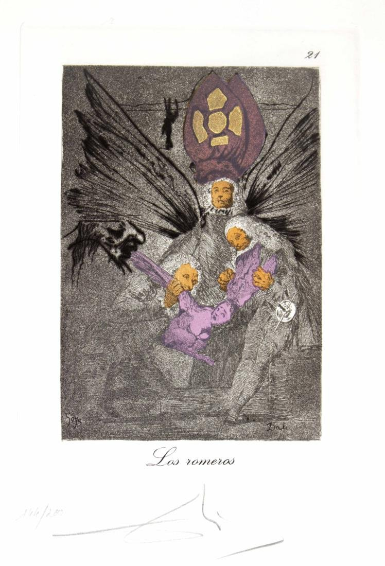 Salvador Dali - Los romeros