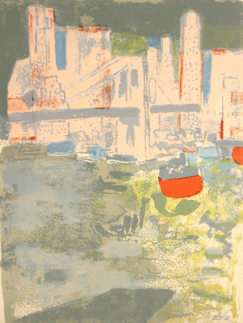 Paul Guiramand - Le port de New York