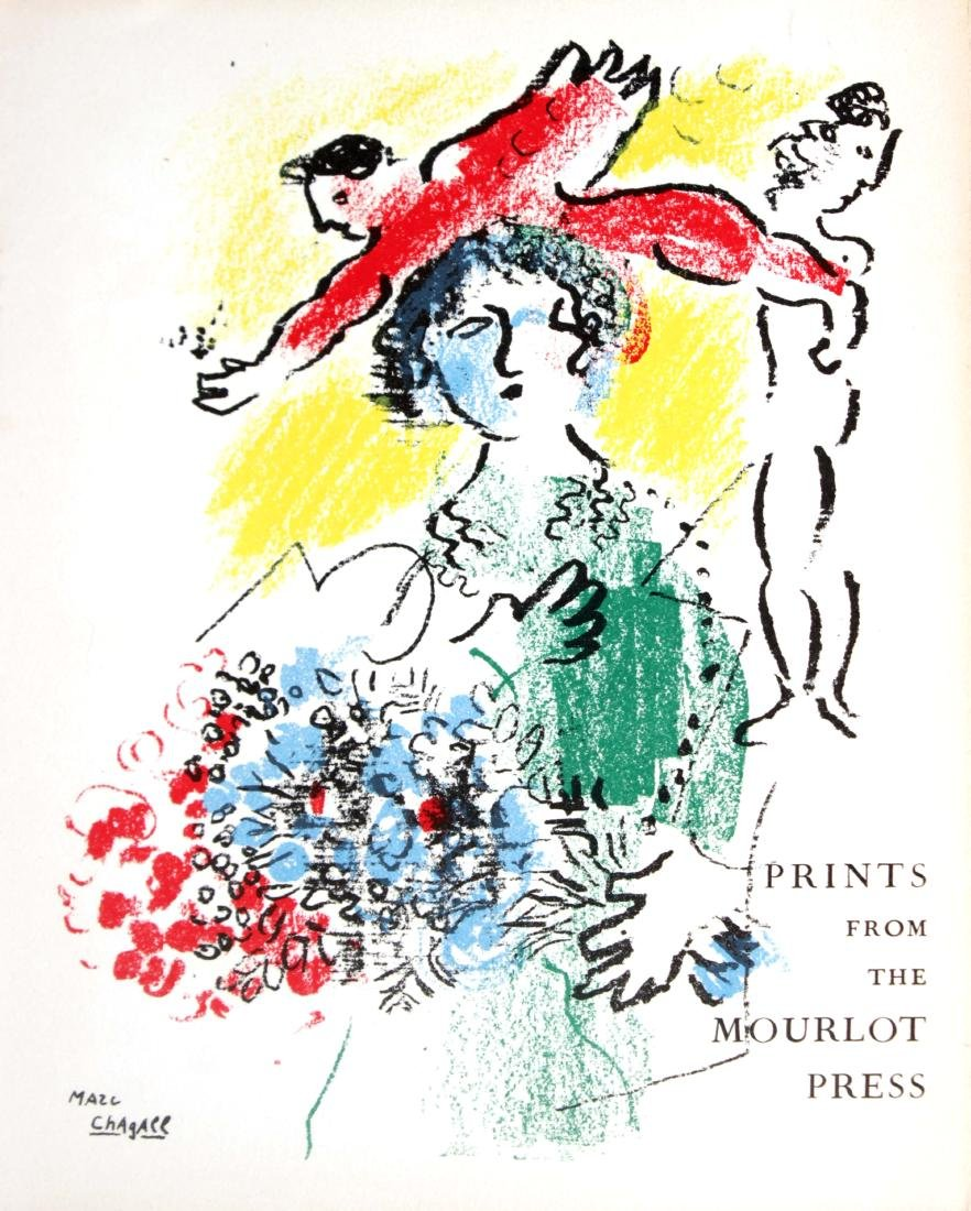 "Marc Chagall - Cover Page from ""Prints from the Mourlot"