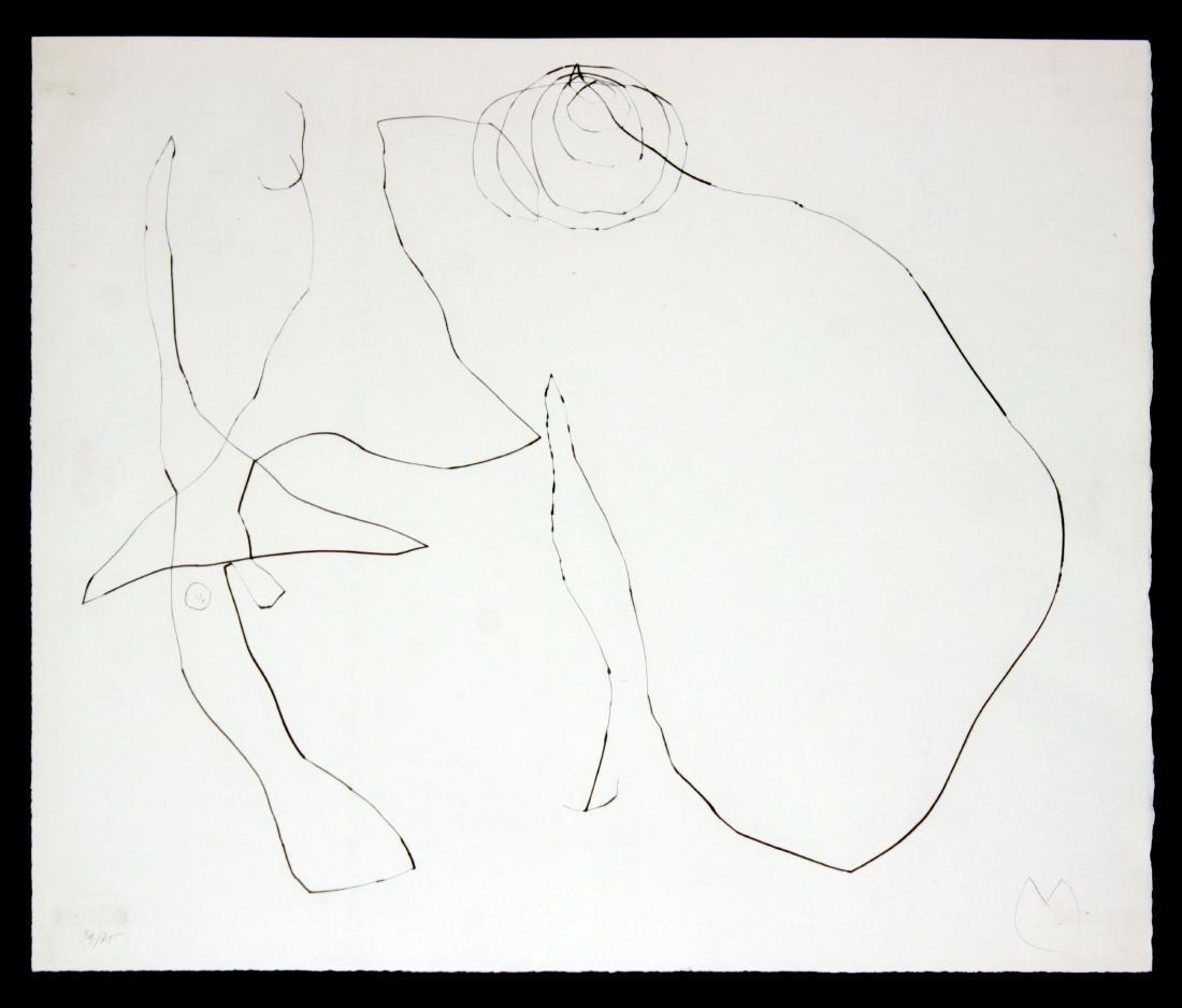 "Joan Miro - Untitled I from ""Flux de l'Aimant"""
