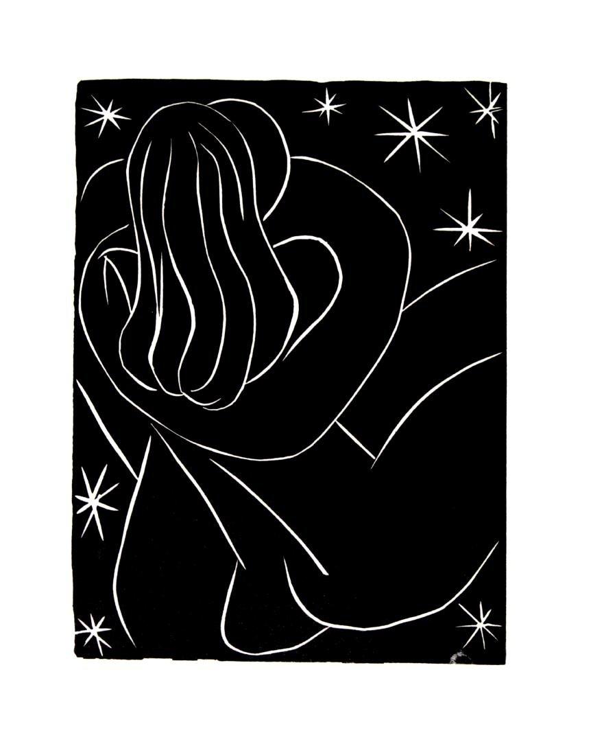 "Henri Matisse - Untitled Linocut from ""Pasiphae"""