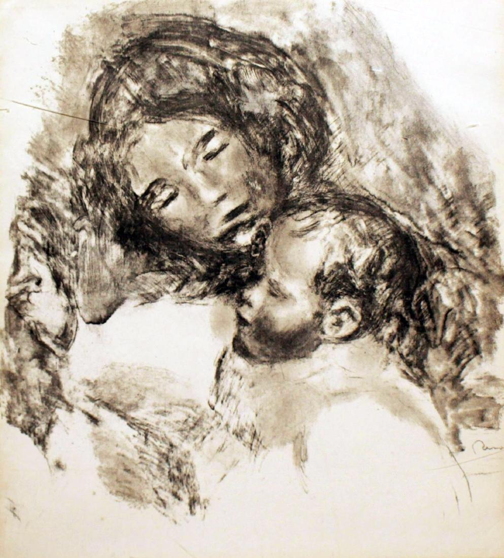 Pierre Auguste Renoir - La Maternite