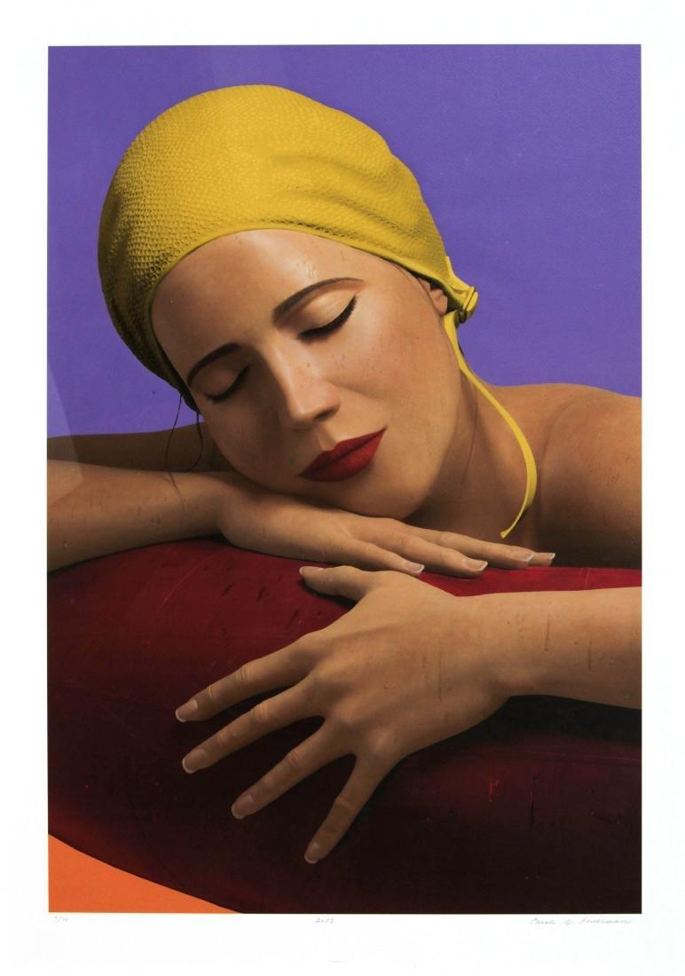 Carole Feuerman - Serena (Yellow)